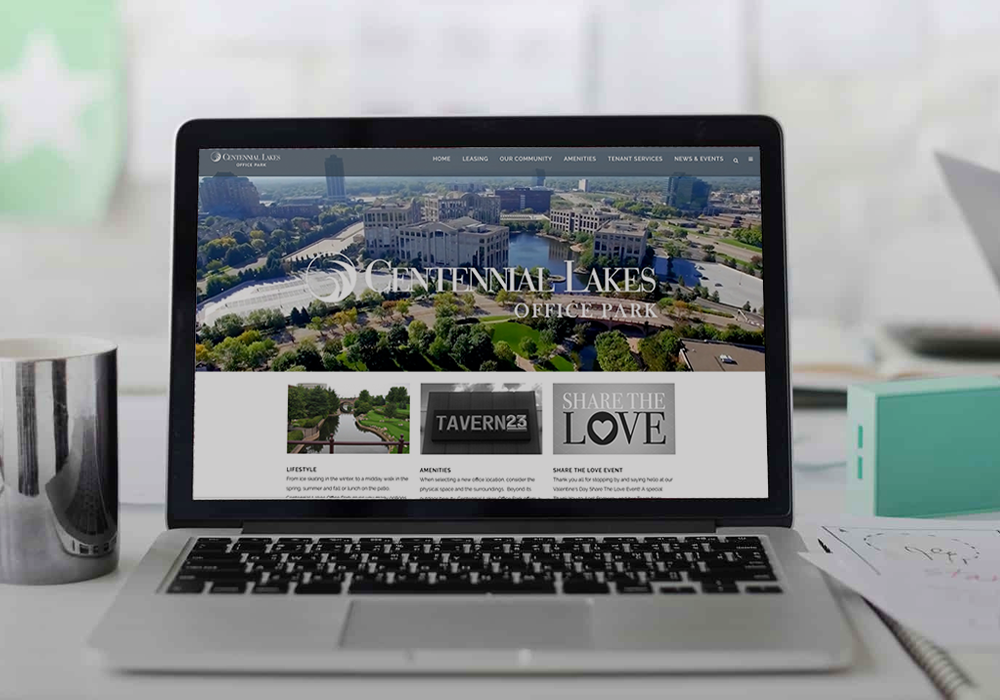 Centennial Lakes website