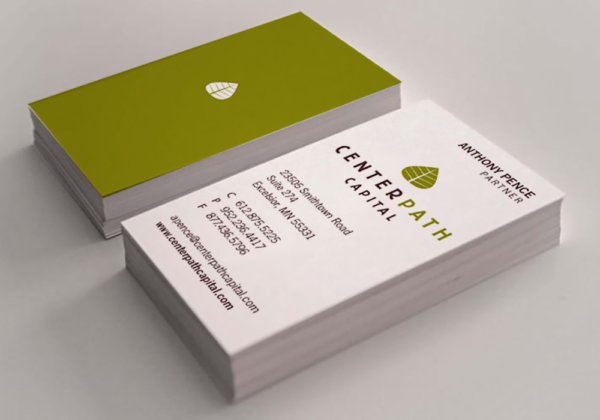 Centerpath Capital logo and business card