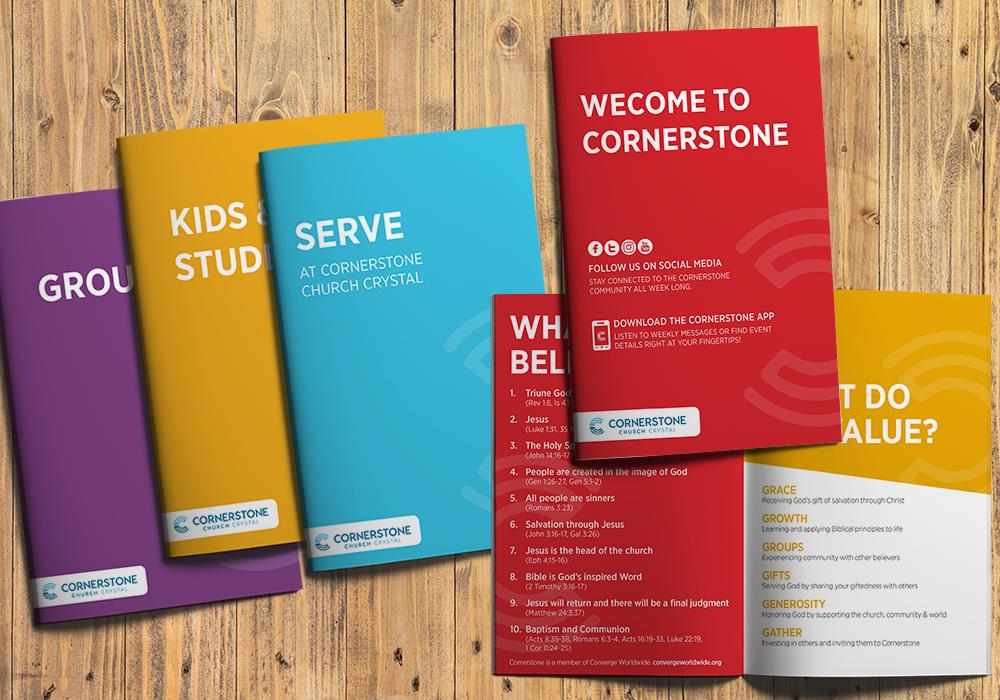 Cornerstone brochures