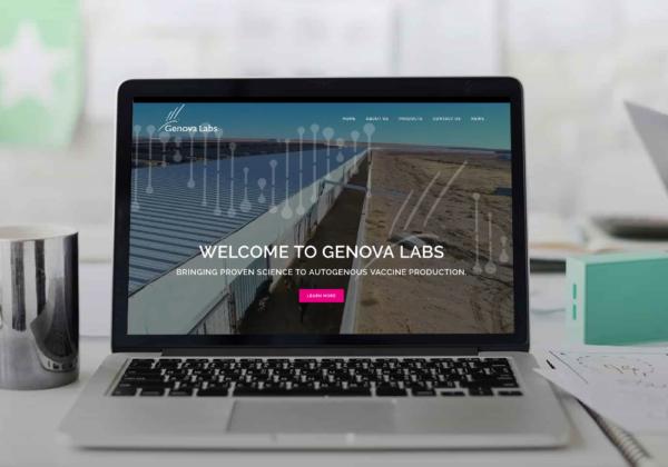 Genova Labs website