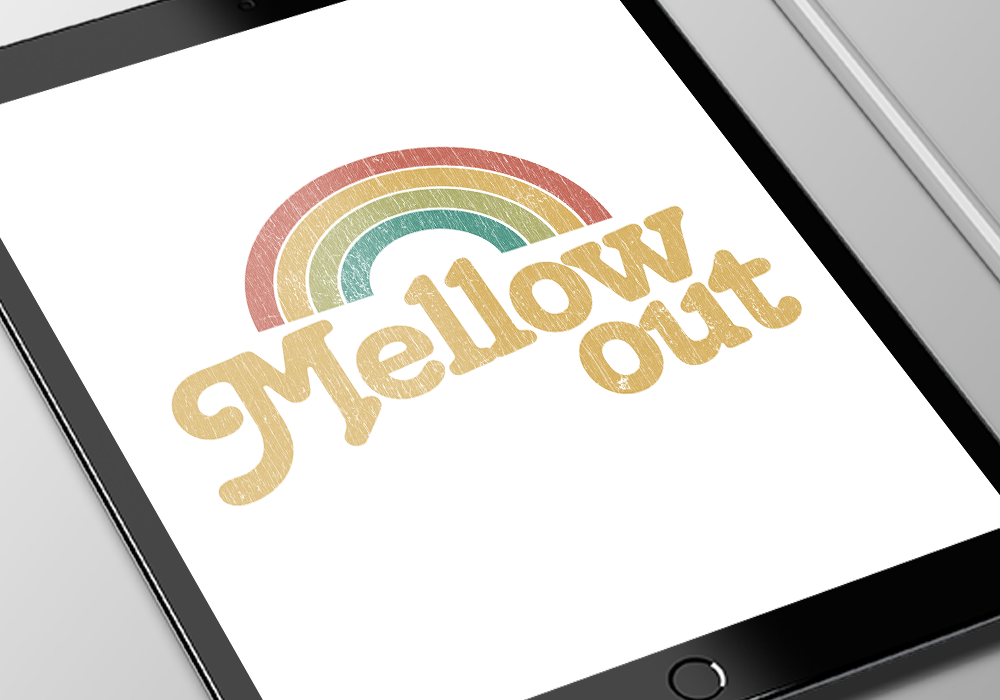 MellowOut ipad closeup
