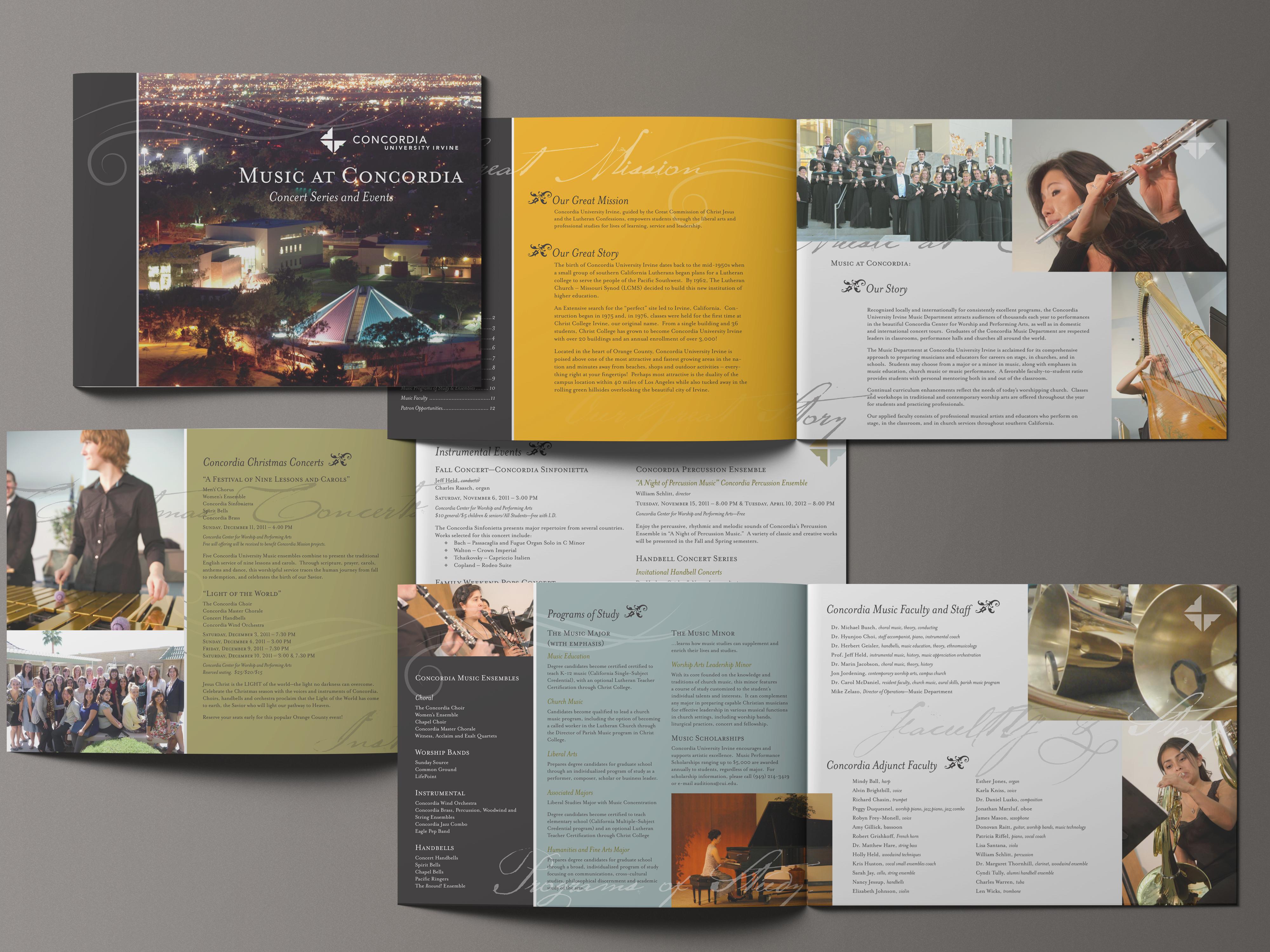 Season Arts Music brochure